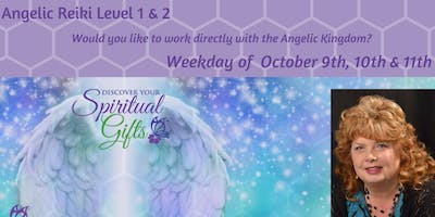 Angelic Reiki 1 & 2 Weekday Workshop (1 of 3)
