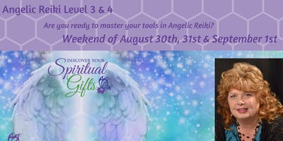 Angelic Reiki 3 & 4 Weekend Workshop (1 of 3)