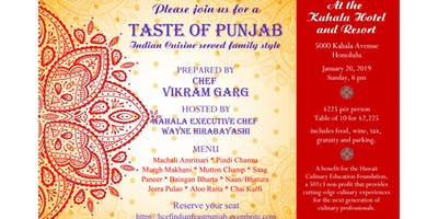 Punjab -- Taste the Cuisine of Chef Vikram Garg's Homeland