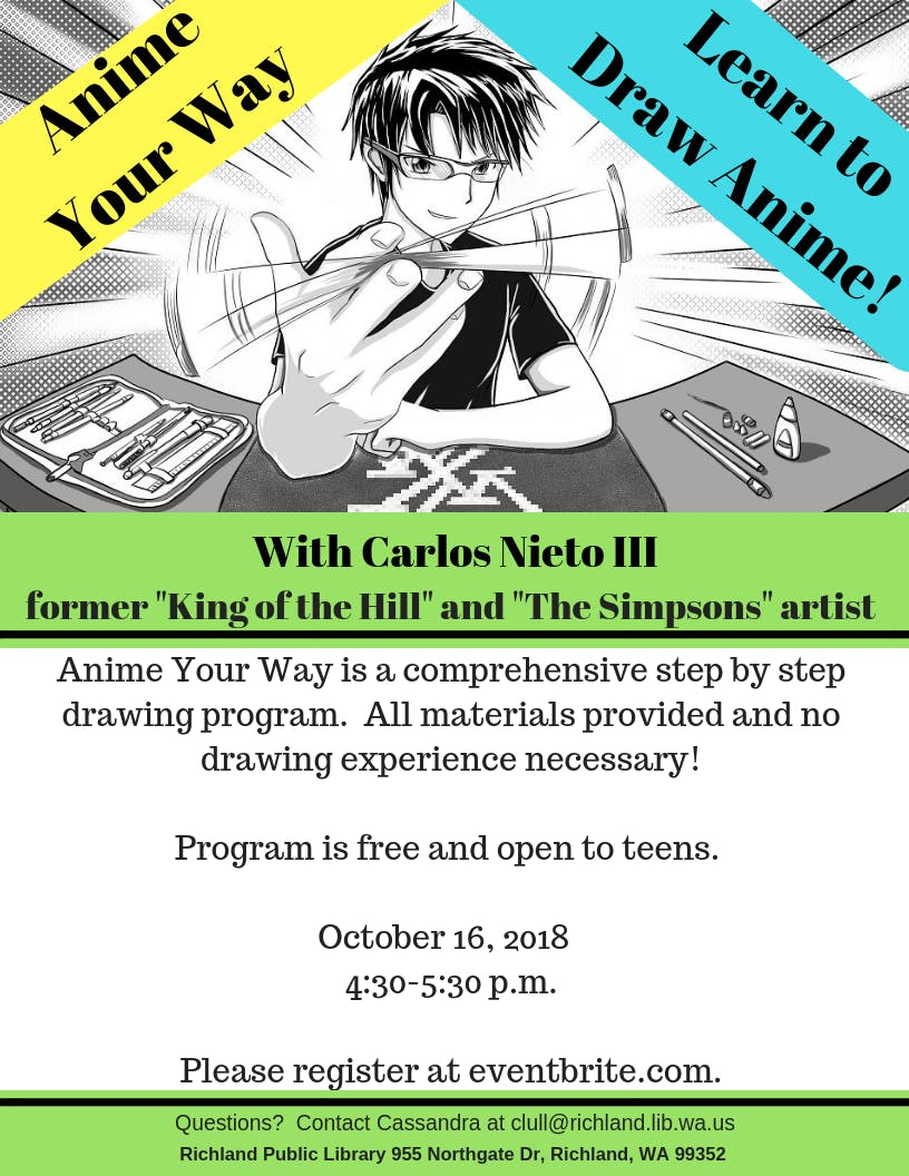 Anime your way with carlos nieto iii