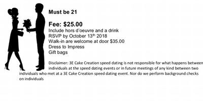 Speed dating disclaimer