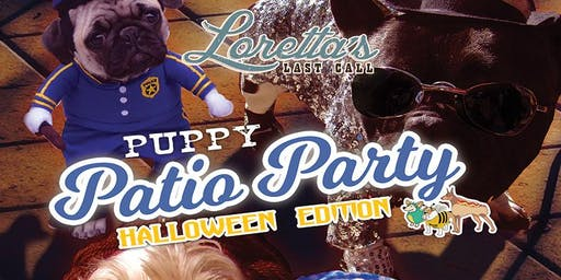 Halloween Puppy Patio Brunch at Loretta's Last Call!