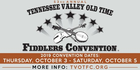 53rd Annual Tennessee Valley Old Time Fiddlers Convention tickets