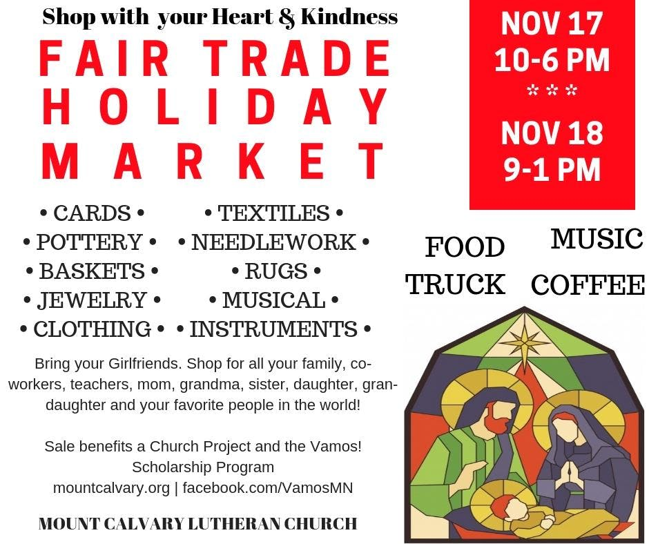 Fair Trade Holiday Global Market - Free Event