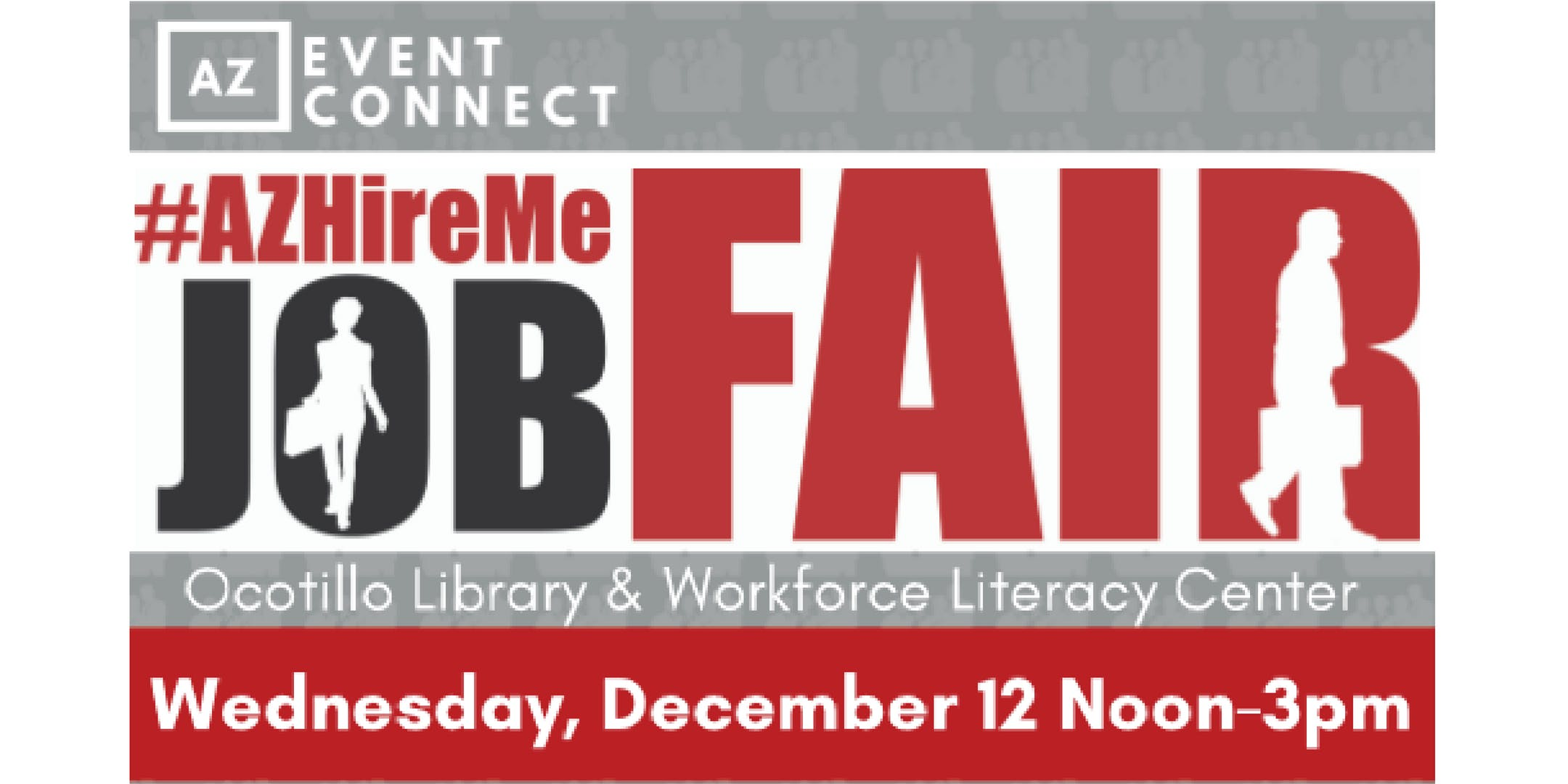 #AZHireMe Job Fair| Meet in person with hiring companies| December 12, 2018
