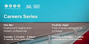 SONA Career Series: Portfolio night