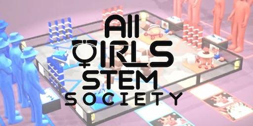[All Girls STEM Society] Lego Mindstorms Workshop - November 16, 2019