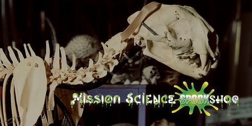 mission science spookshop haunted house