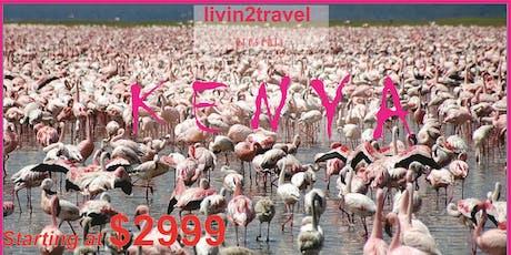Livin2travel presents KENYA tickets