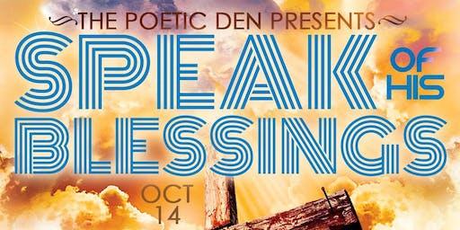 Poetry Extravaganza 'Speak of His Blessings'