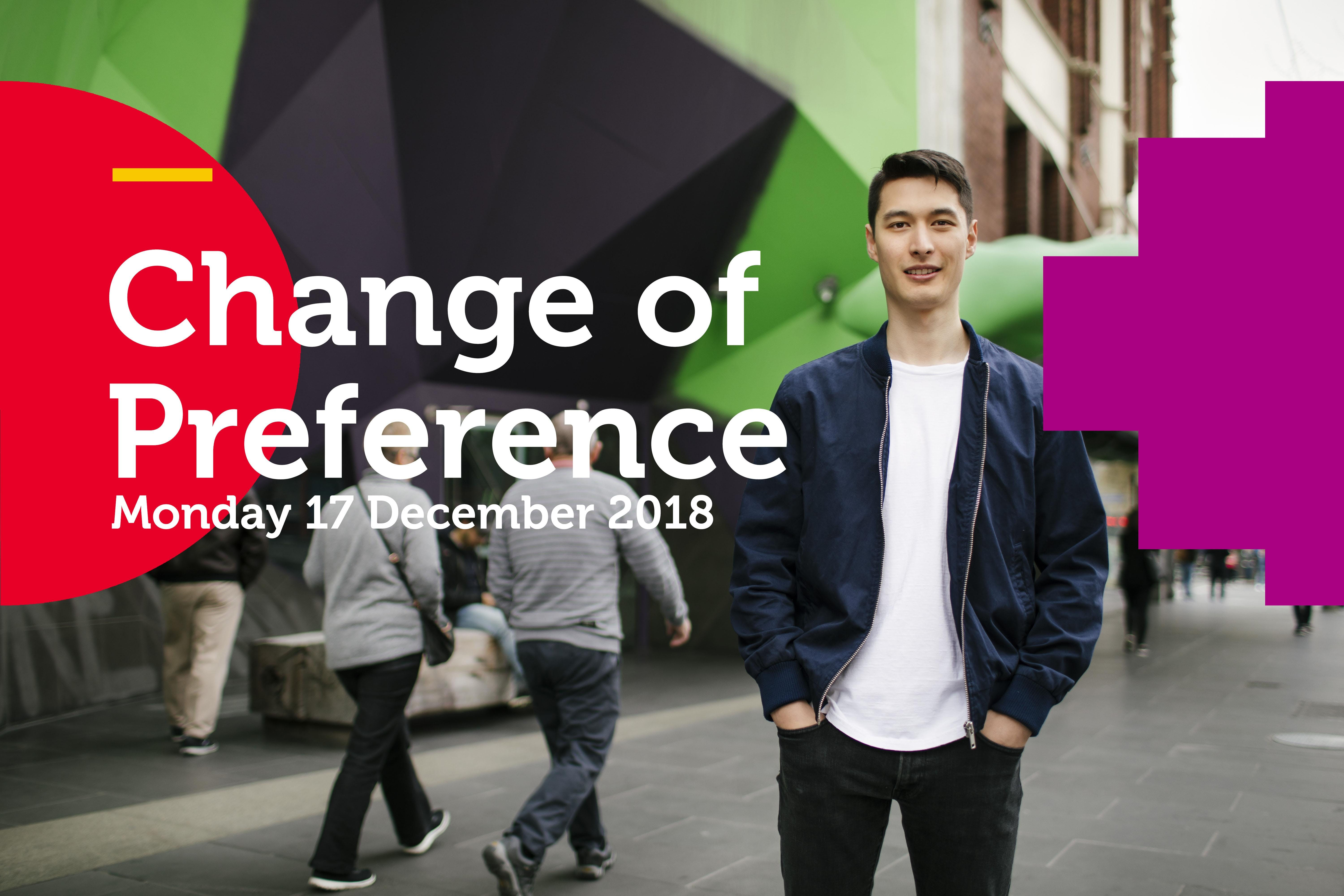 Change of Preference Expo 2018