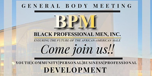 BPM General Body Meeting