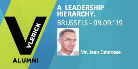 A leadership hierarchy. billets
