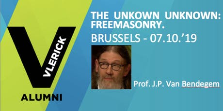 The unknown unknown: Freemasonry. tickets