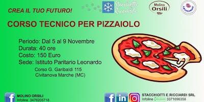 Corso Intensivo base per pizzaiolo. Ist. Leonardo