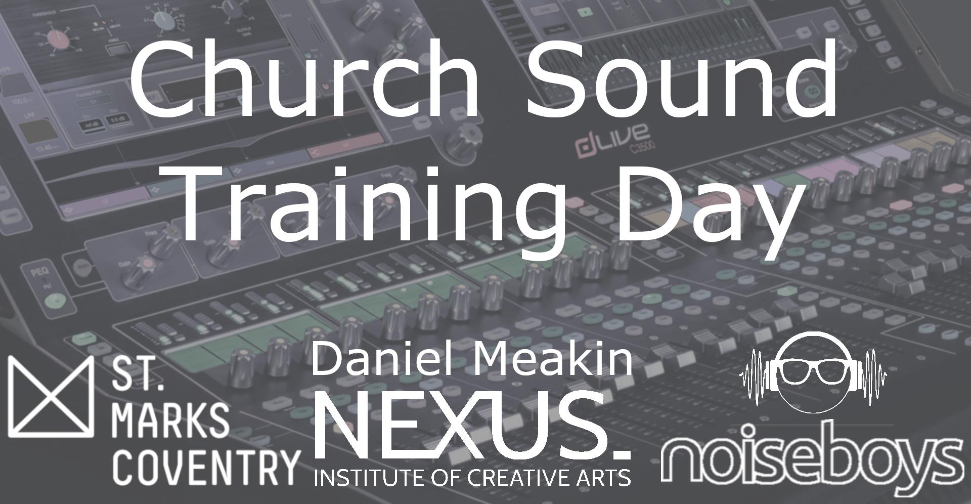 Church Sound Training Day