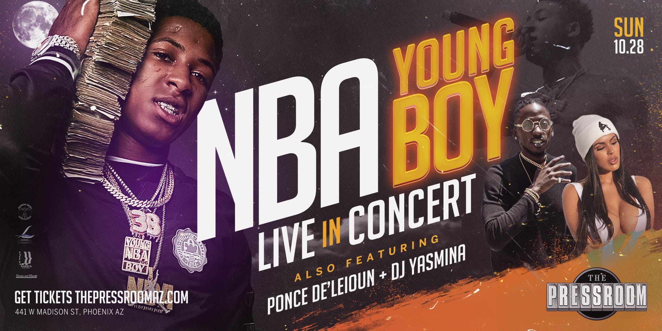 NBA YoungBoy @ The Pressroom
