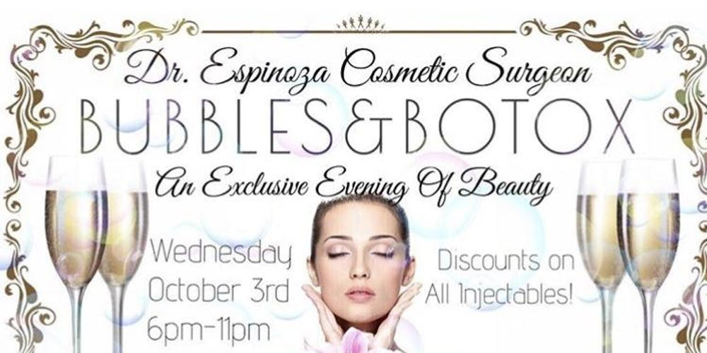 Spa Botox Party Tickets, Wed, Oct 24, 2018 at 6:00 PM | Eventbrite