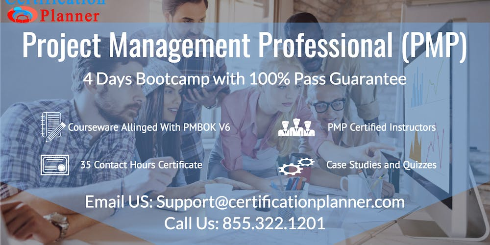 Project Management Professional Pmp 4 Days Classroom In Boston