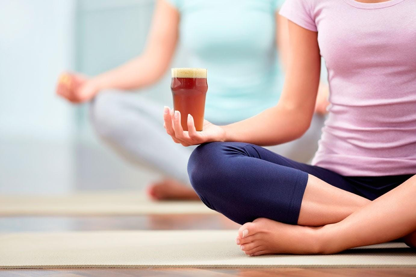 Yoga + Beer in The District