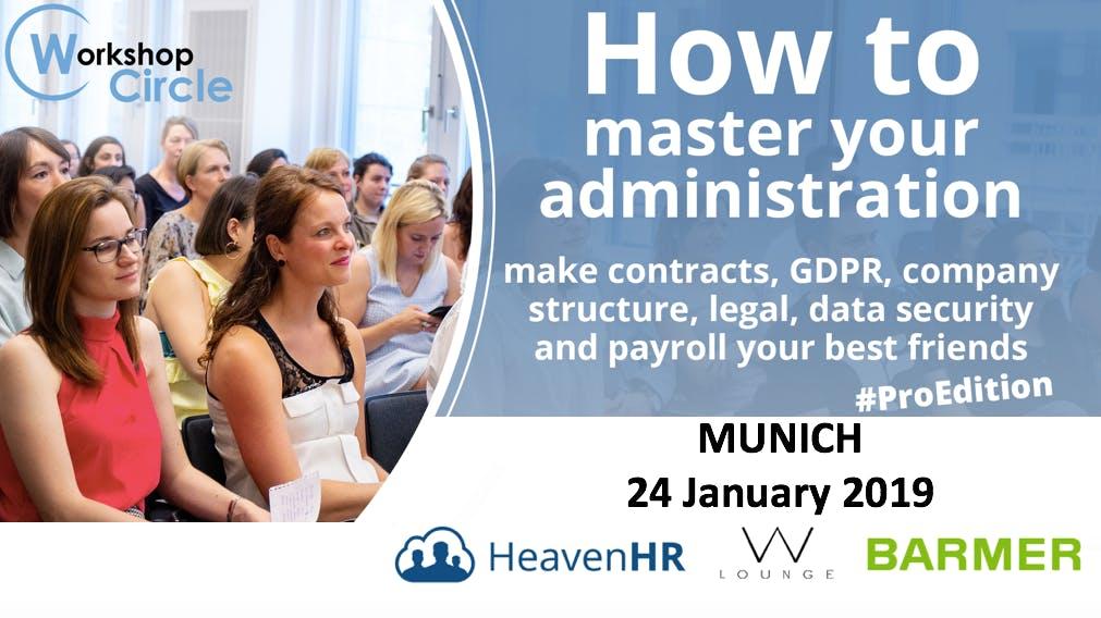 WORKSHOP #3 MUNICH - HR ADMINISTRATION