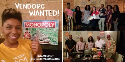 Vendor Opportunity - Buying A Home! Monopoly Style