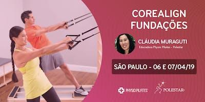 Formação em CoreAlign - Módulo Fundações - Physio Pilates Balanced Body - São Paulo