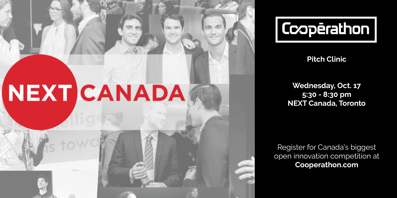 Cooperathon Toronto: Pitch Clinic