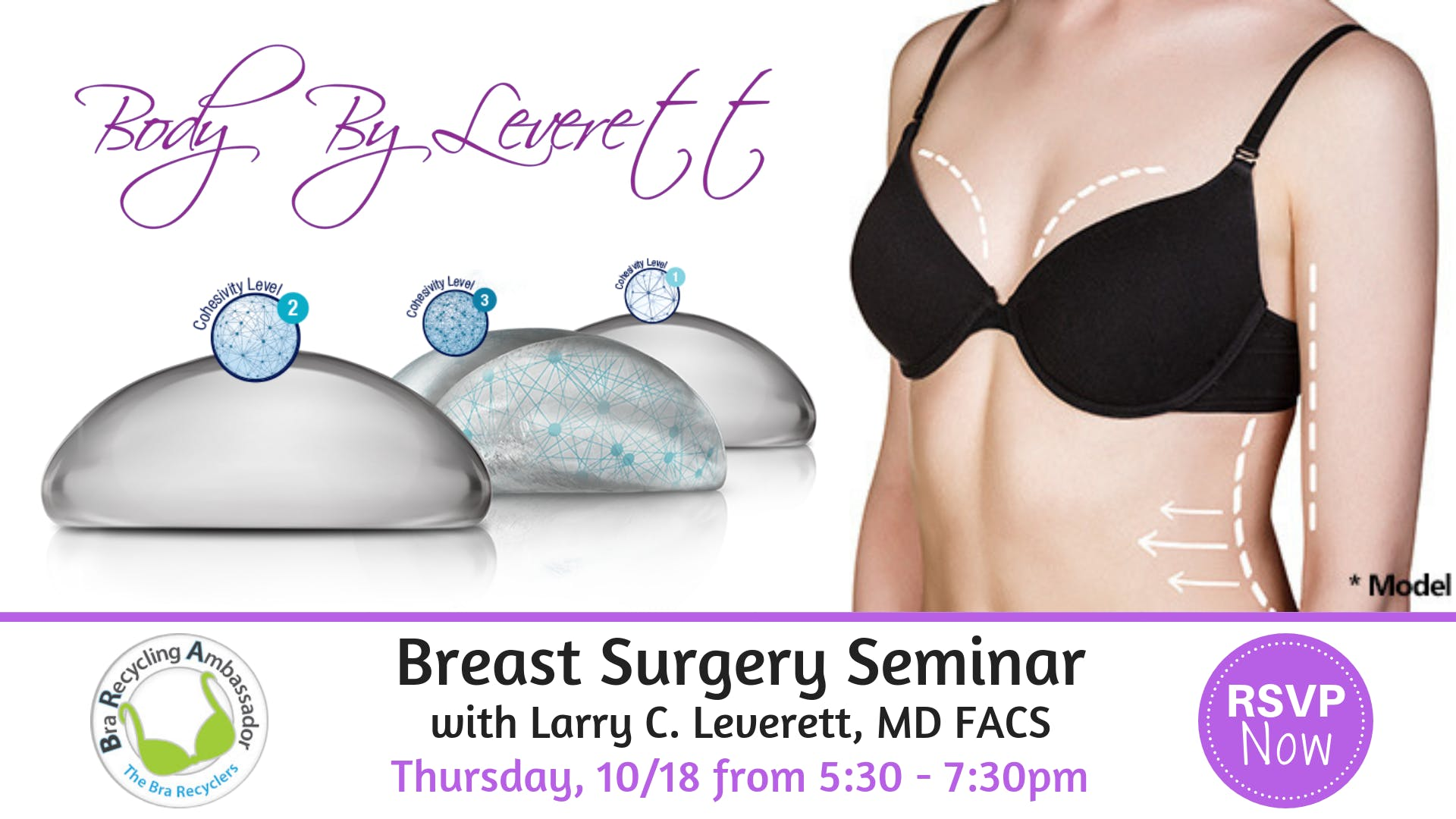 Breast Augmentation Seminar with Larry C. Leverett, MD