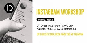 Instagram Workshop ADVANCED/Modul II