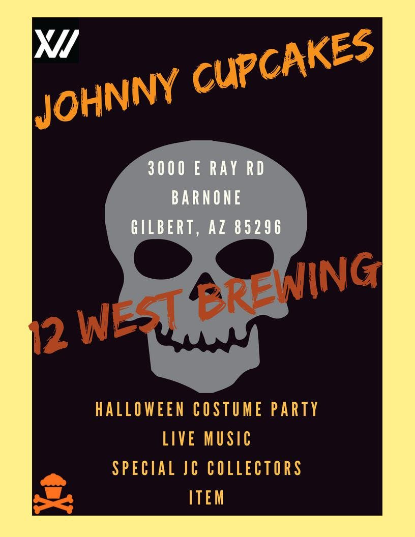 Johnny Cupcakes x 12 West Brewing