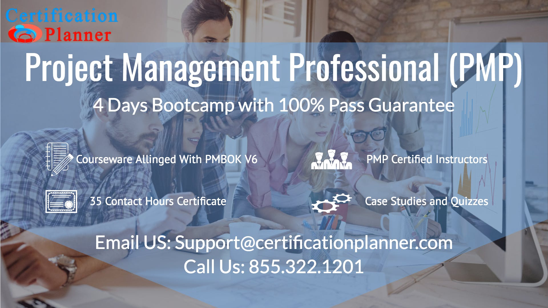 Project Management Professional Pmp 4 Days Classroom In Boston 7