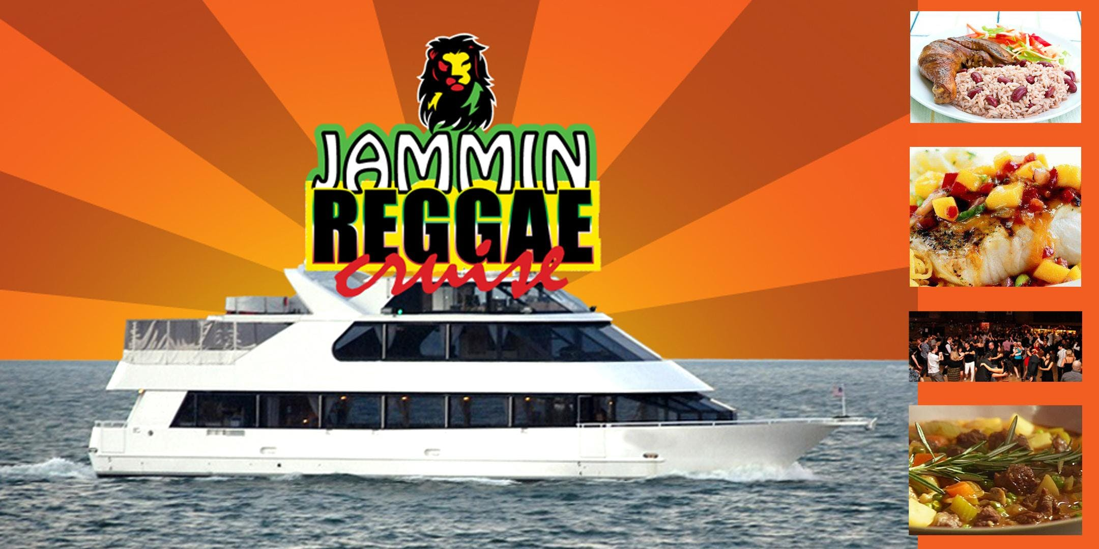 Jammin' Reggae Cruise November 16th @8:00 PM