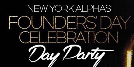 NEW YORK ALPHAS FOUNDERS DAY CELEBRATION tickets