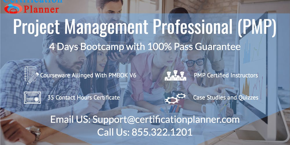 Project Management Professional Pmp 4 Days Classroom In Charlotte