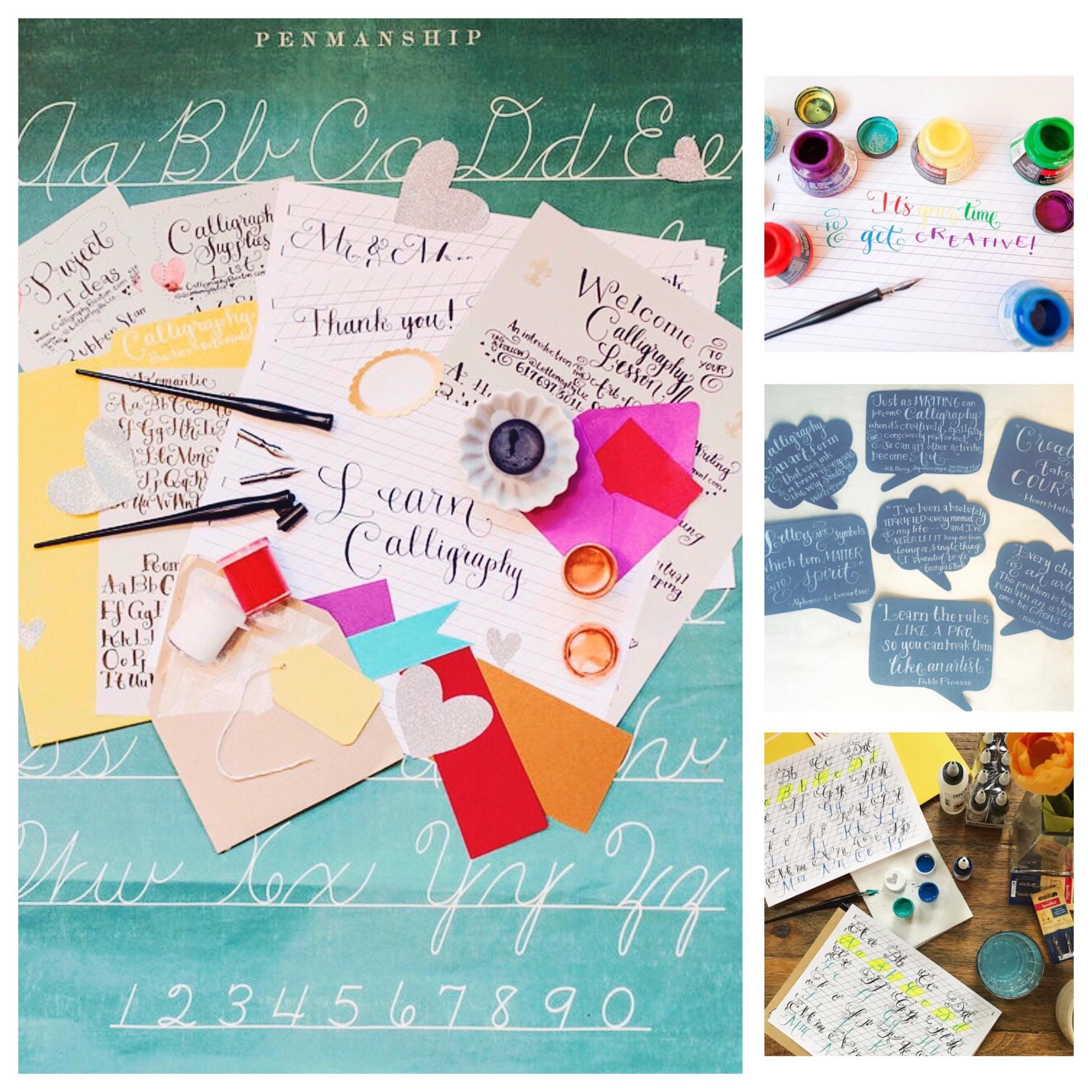level 2 workshops in boston envelope art placecards chalk mirror