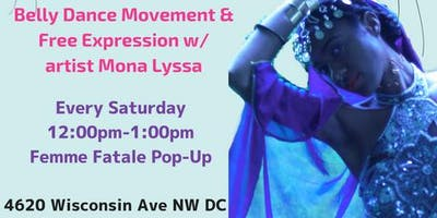 Dance Therapy: Belly Dance Movement & Free Expression
