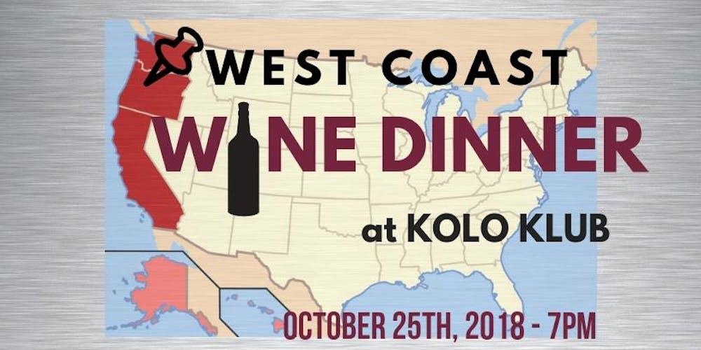 Image result for West Coast Wine Dinner