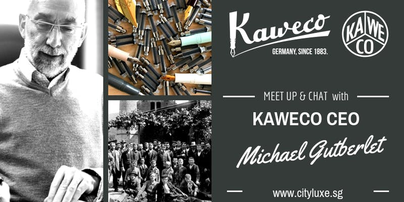MeetUp: Kaweco CEO in Singapore