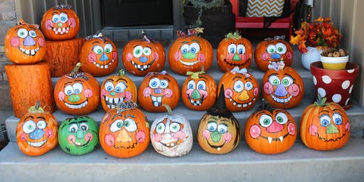Halloween Pumpkin Painting Party at Back Bay Social!