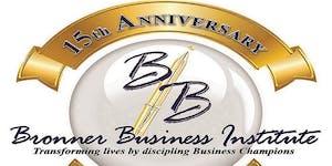 The Black Tie Gala & Fundraiser: Bronner Business...