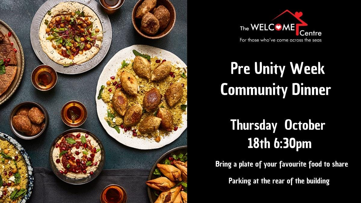 Pre Unity Week Community Dinner