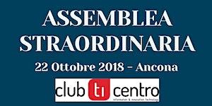 Assemblea Straordinaria Soci 2018