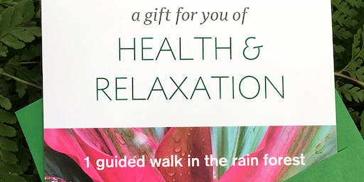 Gift Certificate for Forest Bathing Walk
