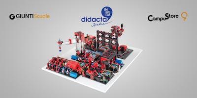 Industria 4.0: PLC, braccio robotico multifunzione e kit fischertechnik