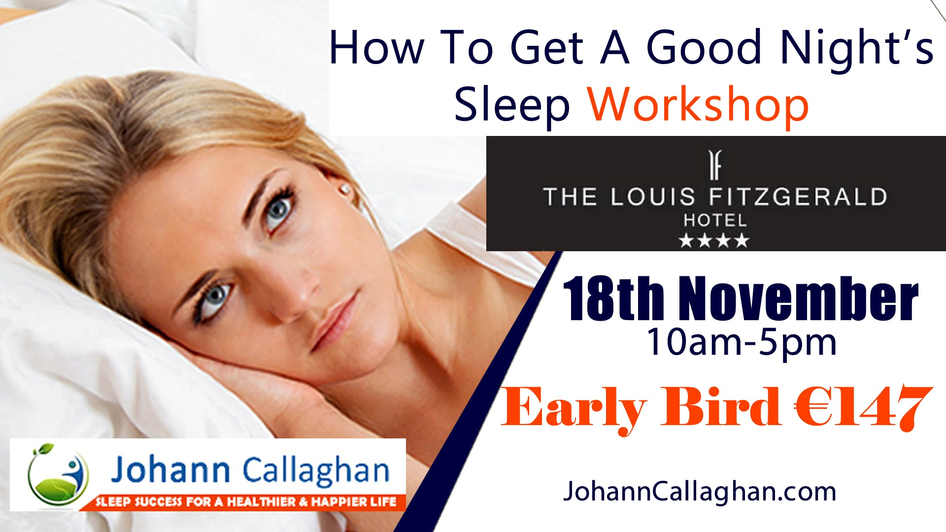 How To Get A Good Night's Sleep Workshop