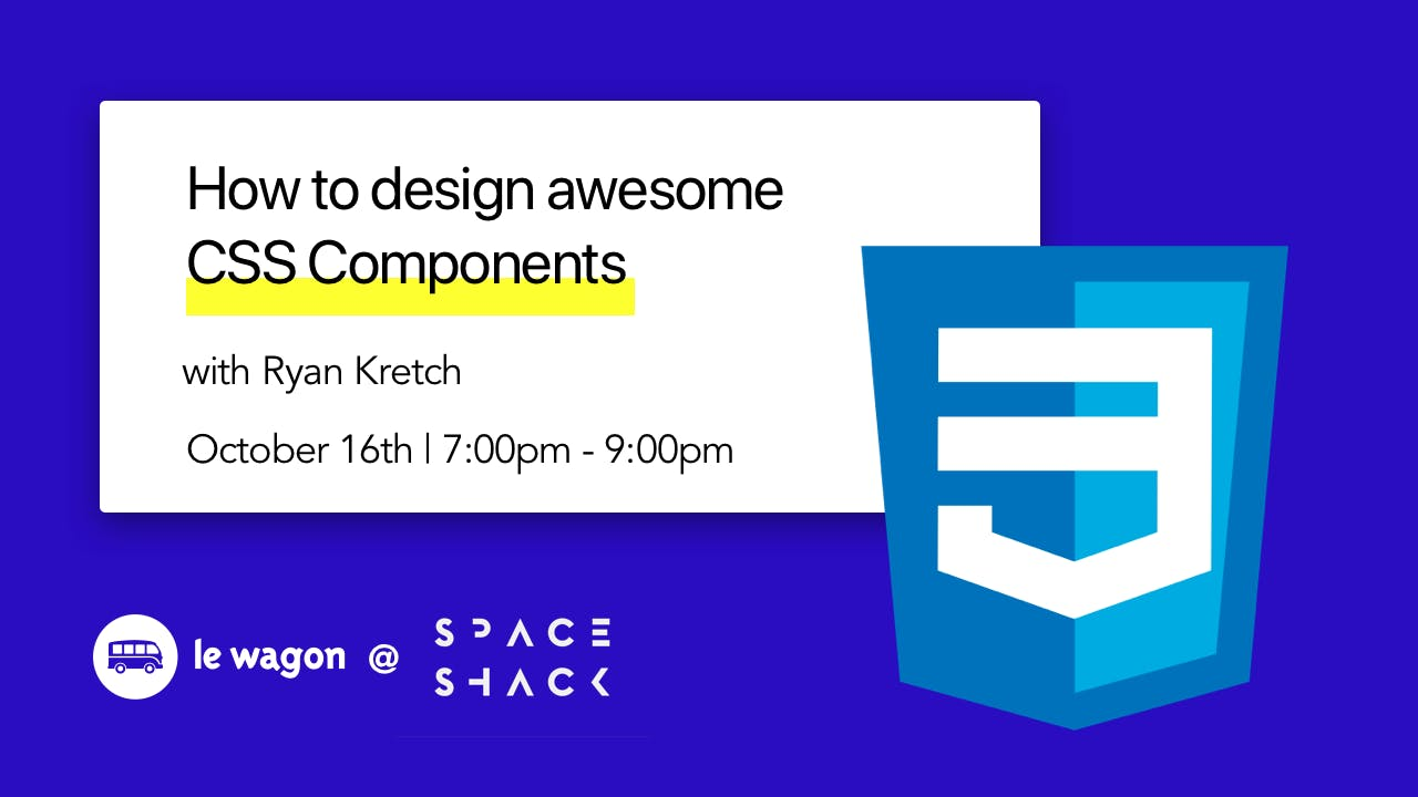 How To Design Awesome CSS Components