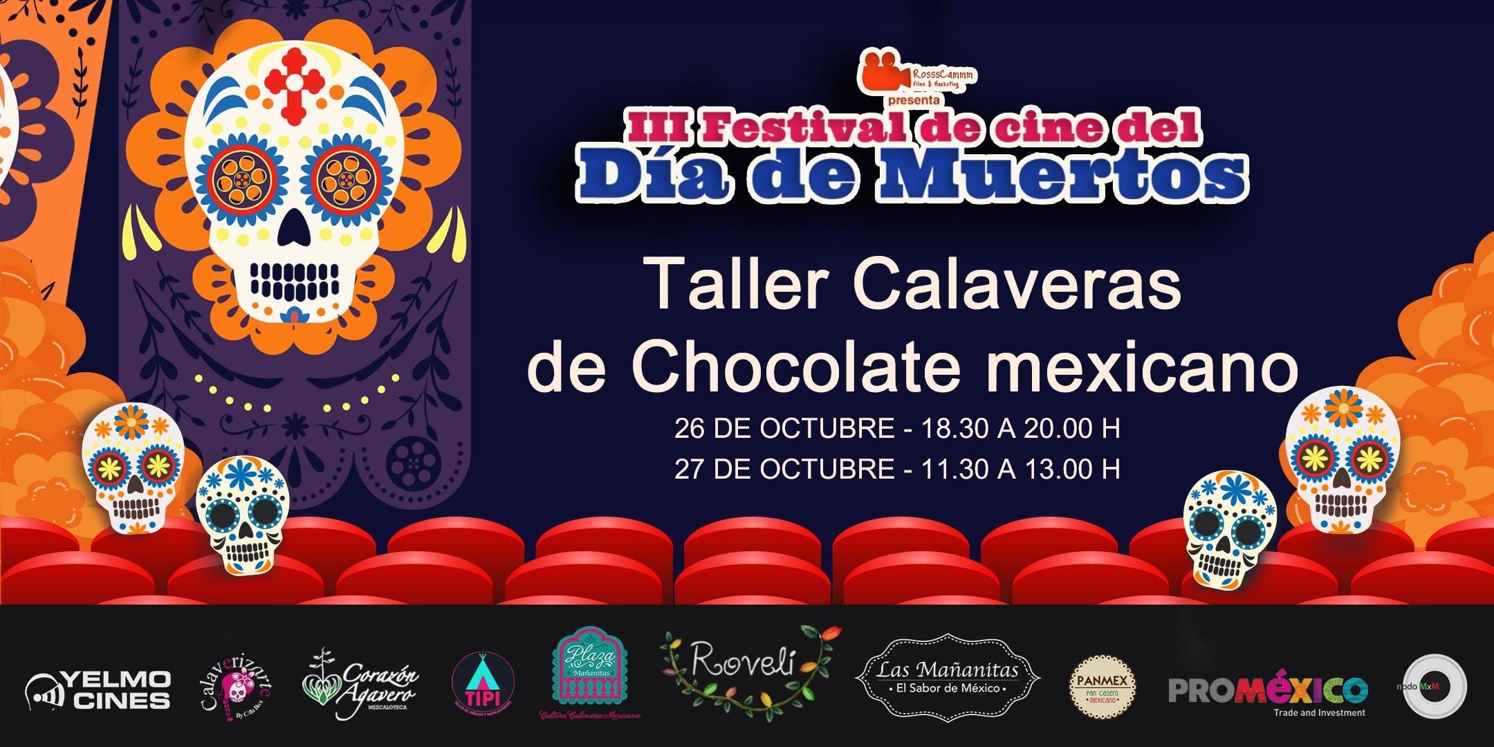 Taller Para Niños Calaveras De Chocolate Mexicanas Degustación