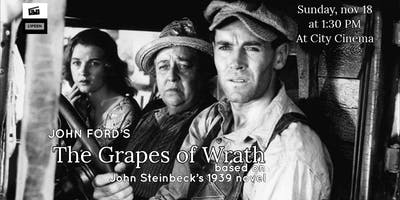 Film Screening: The Grapes of Wrath (John Ford, 1940)