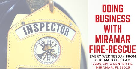 Doing Business With Miramar Fire-Rescue tickets